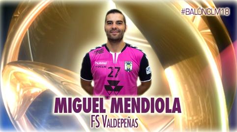 Miguel Mendiola - Fútbol Sala Valdepeñas