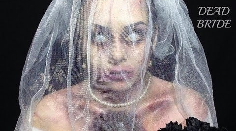 DEAD BRIDE|HALLOWEEN MAKEUP|YADIRA OLAN #HalloweenHitsbook