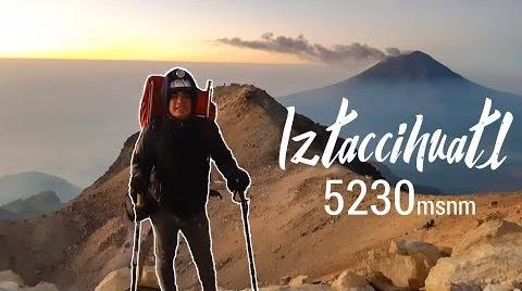 Subiendo el tercer volcán más alto de México ️  Iztaccíhuatl (La mujer dormida) #EstrellasDigitales2019