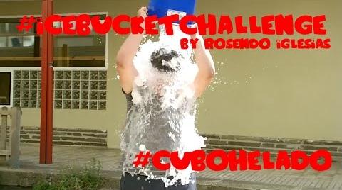 #IceBucketChallenge by Rosendo Iglesias (#cubohELAdo)
