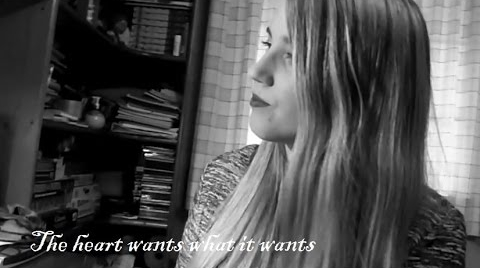 The Heart wants what it wants, acoustic cover, subtítulos al español