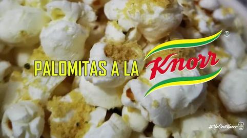 Palomitas a la Knorr (modo de preparación) #YoCociKnorr