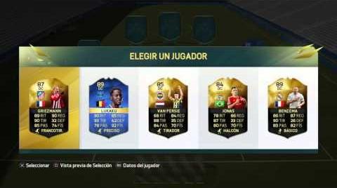 PACK OPENING  + FUT DRAFT A POR LOS BPL TOTS  | FIFA 16 | Ismaron10