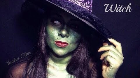 WITCH|HALLOWEEN MAKEUP|BRUJA|YADIRA OLAN #HalloweenHitsbook