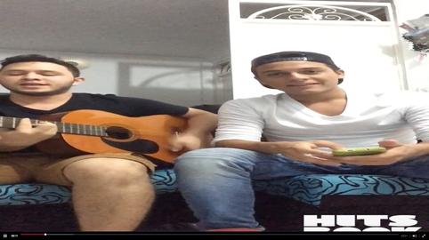 Santiago Pineda cover un ratito Andrés Cepeda #HitsbookMúsica