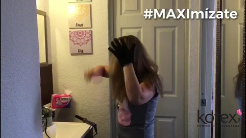 Con Kotex Maxi Nocturna nada me detiene! #MAXImízate