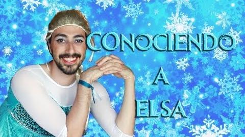 Conociendo a la princesa Elsa (Frozen)