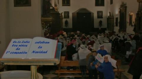 LOS NINOS DE PRIMERA COMUNION