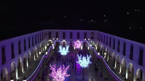 La Navidad ilumina Berja