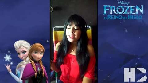 Libre soy , frozen (cover) ^.^ #coversdecine