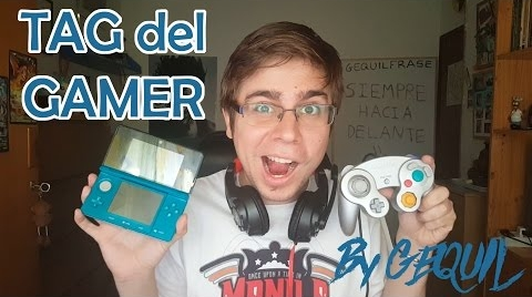 TAG DEL GAMER | GEQUIL08 #TagGamer