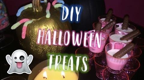 ¡COMIDA PARA HALLOWEEN FÁCIL Y RÁPIDA¡ // DIY HALLOWEEN TREATS #HalloweenHitsbook