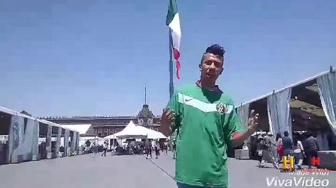 Pogba en el Zocalo