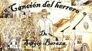 """""""Canción del herrero"""" de Sergio Baraza"""