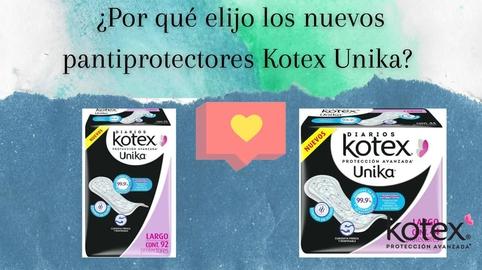 ¿Por qué elijo los nuevos pantiprotectores Kotex unika? #HablemosDeSaludVaginal