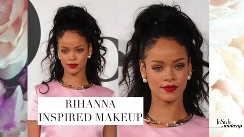 Rihanna Inspired Makeup Look #Instyle Makeup