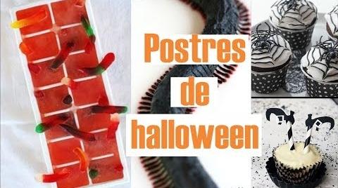 Postres para Halloween SIN HORNO -♥Angy