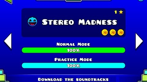 Geometry Dash   Nivel 1/Level 1 Stereo Madness