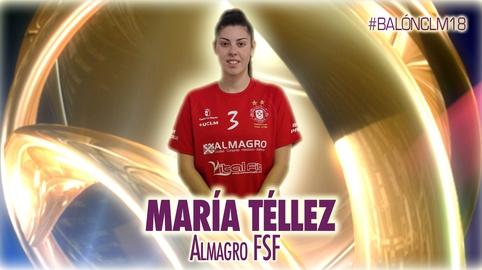 María Téllez - Almagro Fútbol Sala