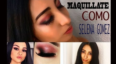 Maquillate como Selena Gomez #Instyle Makeup
