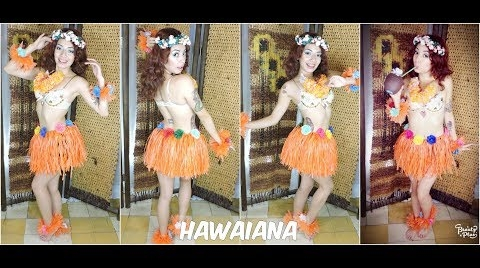 Barbie Versión Hawaii Halloween #HalloweenHitsbook