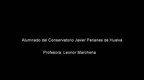 Alumnado del Conservatorio Javier Perianes de Huelva