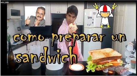 COMO PREPARAR UN SANDWICH #RecetasParaDummies
