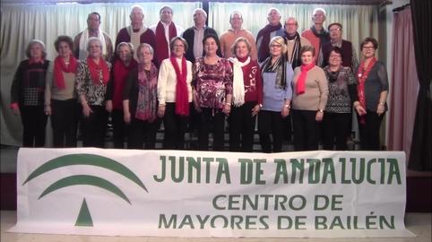 Centro de Mayores de Bailén, mi vídeo en la campaña Yo también canté el villancico de Canal Sur