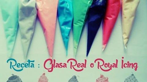 Recetas infantiles: Como hacer Glasa Real o Royal Icing para decorar galletas #TutorialesNavideños