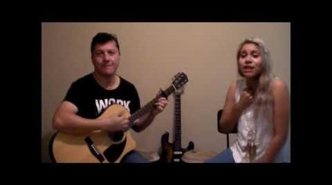 """""""Como la flor"""" (cover) voz: Esli Vargas, guitarra: Freddy"""