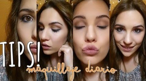 Mi maquillaje para DIARIO (Fácil y natural) TRUQUITOS | EstefaniiGlam