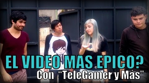 EL VIDEO MAS EPICO? (con TeleGamer y mas) | Sketch