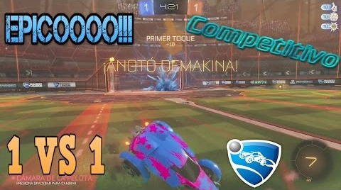 ROCKET LEAGUE #3 / Partida épica | PC STEAM  |