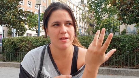 """Andrea (26 años): """"De mi abuela he aprendido la paciencia"""""""