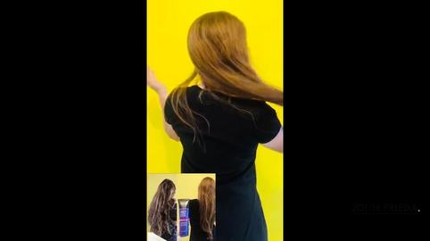Mi cabello es más suave y tiene más brillo #QuieroGanarJohnFrieda