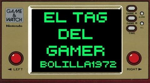 TAG DEL GAMER- CON BOLILLA1972