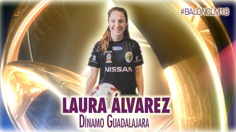 Laura Álvarez - Dínamo de Guadalajara