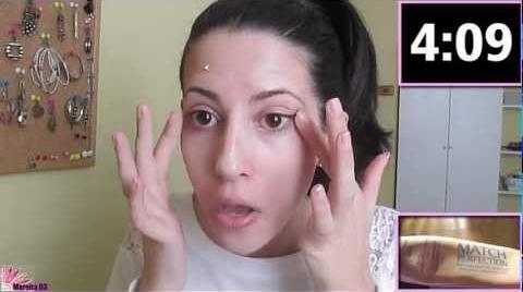 RETO!! Maquillaje en 5 minutos!