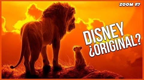 Disney: El problema de la originalidad. #EstrellasDigitales2019