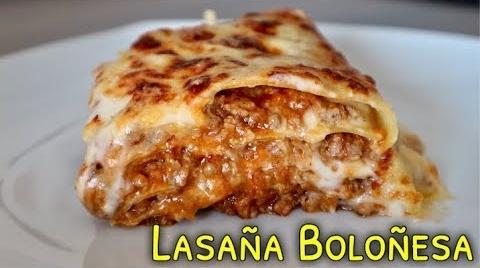 LASAÑA BOLOÑESA RÁPIDA #RecetasParaDummies