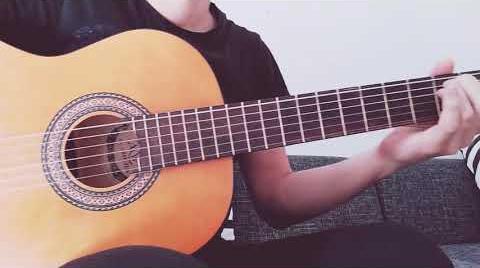 Cuando cae la luna - Estopa (Cover con guitarra) #EstopaChallenge