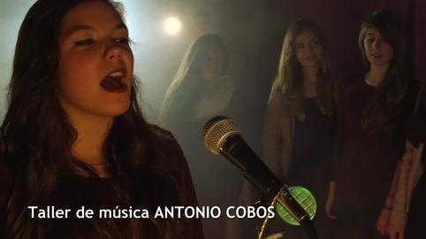 Nuestra navidad en canal sur 2015 taller de música de Antonio Cobos