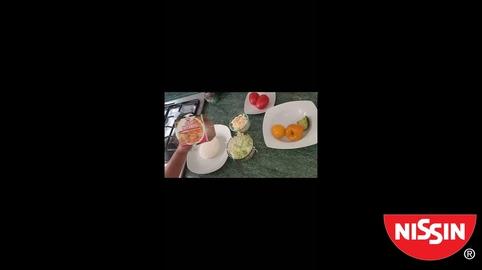 #NissinSOS Queso Ranchero relleno de sopa Nissin