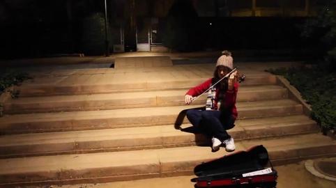 """Erica y Andrea (Granada) - Nuestro vídeo en la campaña """"Yo también canté el villancico de Canal Sur""""."""