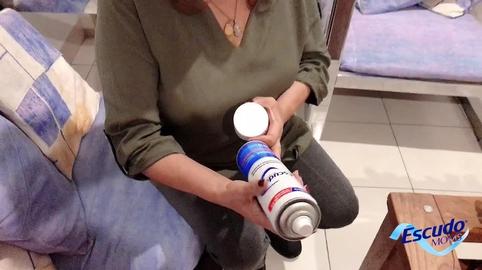 El aerosol de Escudo protege a mi familia en cualquier momento #EscudoMoms