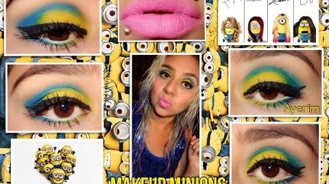 Maquillaje inspirado en Minions ##FashionTip