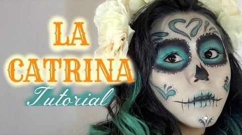 Este es mi video para Fashion Halloween // La Catrina // MonCruzPinto