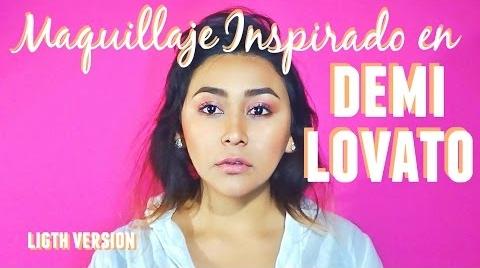 Maquillaje Rojo Quemado // Inspirado en Demi Lovato // #InstyleMakeup LIGHT VERSION // MonCruzPinto #Instyle Makeup