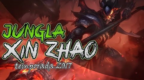 XIN ZHAO JUNGLA | Como ganar partidas fácil :v | LEAGUE OF LEGENDS ##Hitsbook
