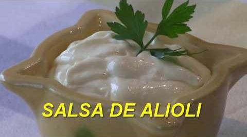 Receta  salsa de  alioli casero | Fácil y rápido | Cocina con Rock #RecetasParaDummies